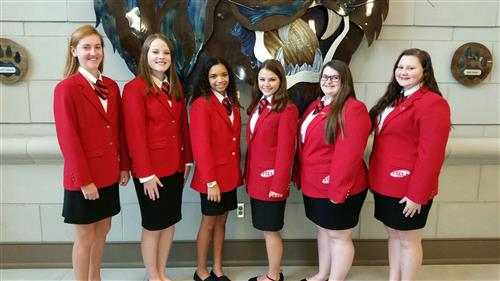 2017-2018 FCCLA Officers