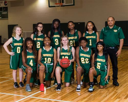 2019 Girls Basketball Team