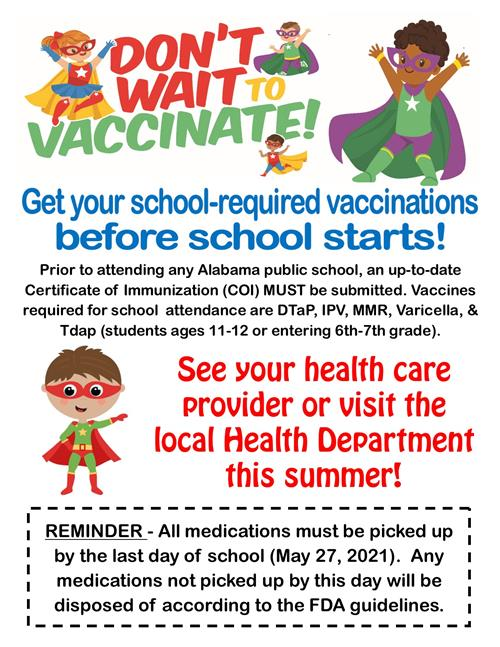 Back to School Vaccination