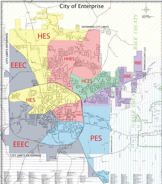 Enterprise City Schools Rezoning Map