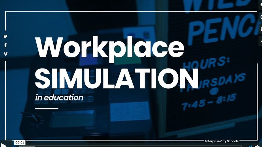 ECS Workplace Simulation Showcase