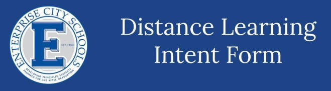 ECS Distance Learning Intent Form