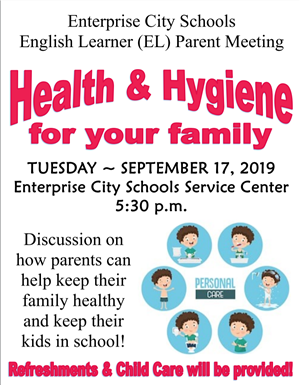 English Learner (EL) Parent Meeting