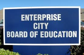 Board of Education Sign